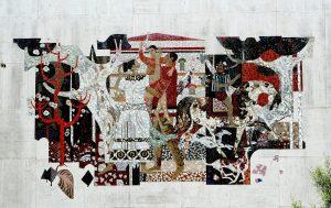Pomona mosaic, 1963