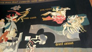 Sheets, Loyola Tapestry, upper right