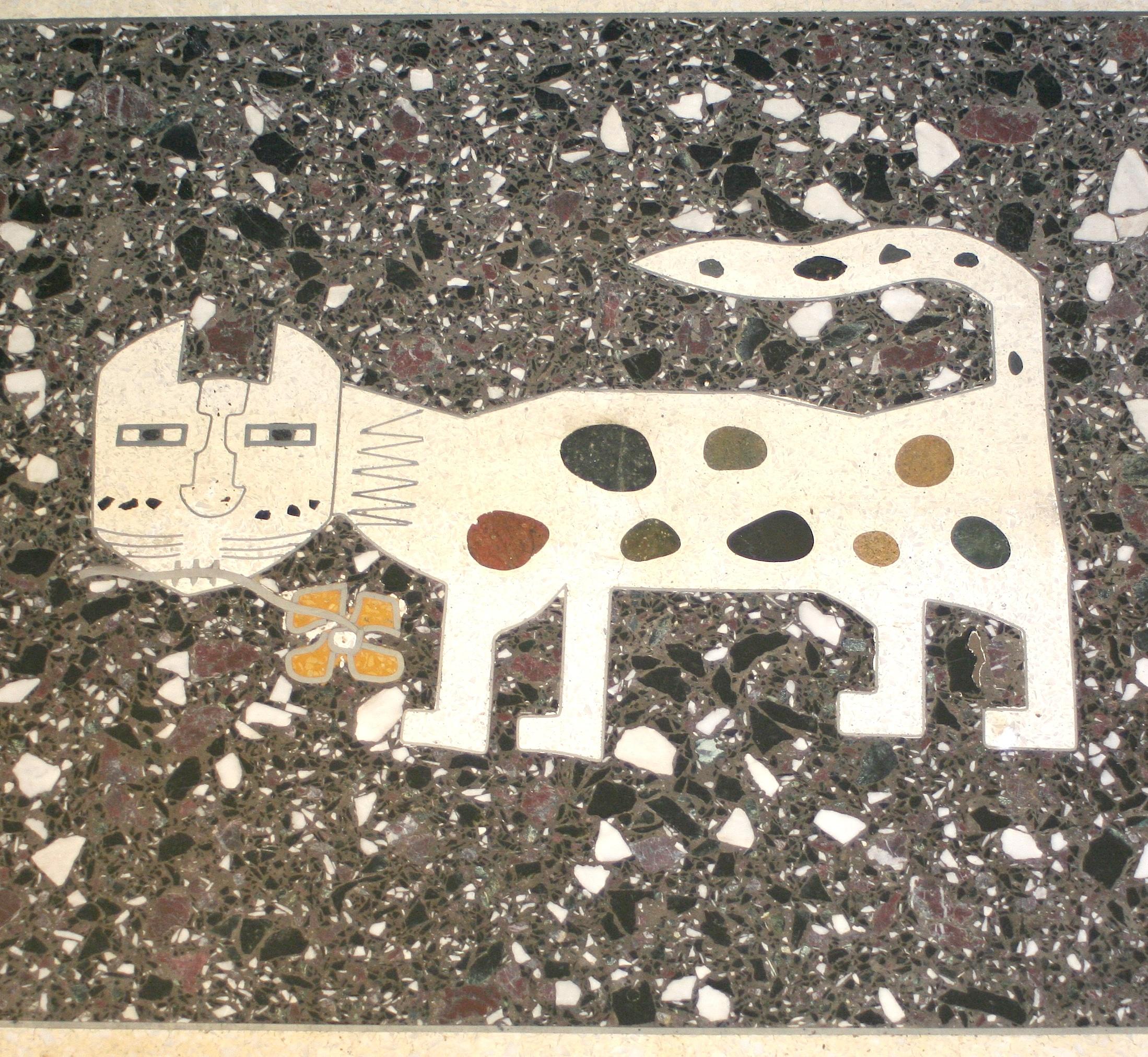 Sheets Studio cat floor