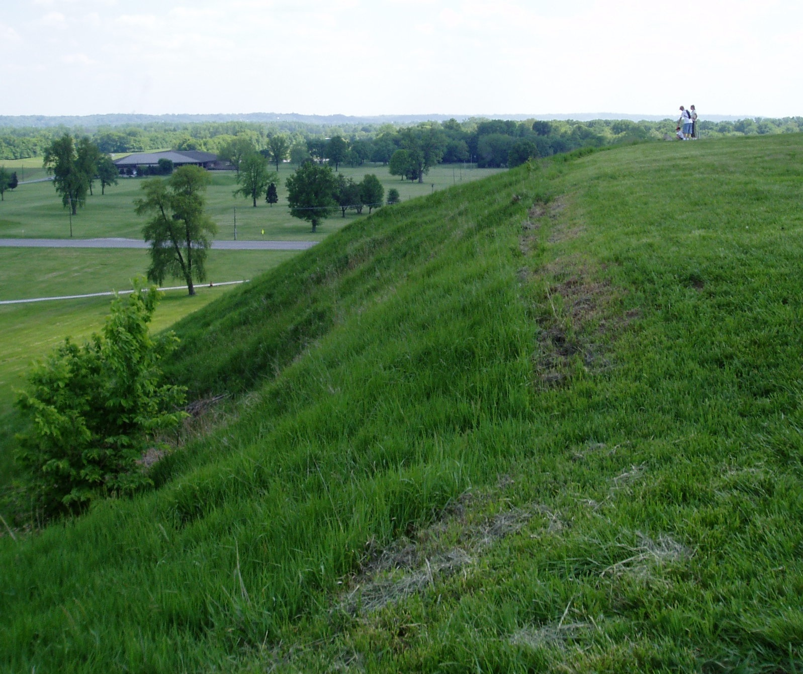 Cahokia Mounds State Park, site of the original Midwestern metropolis