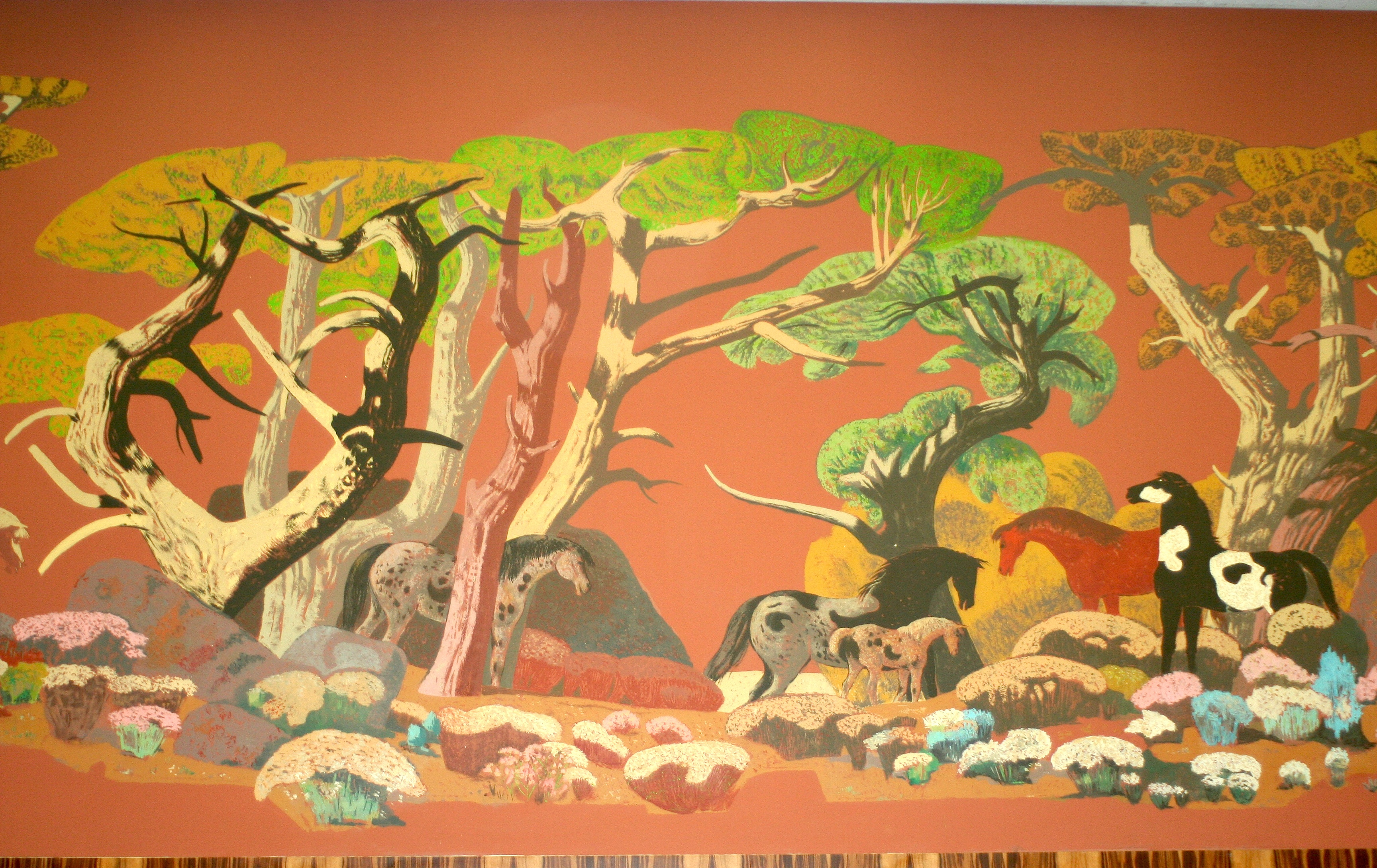 Mural painting, West Portal