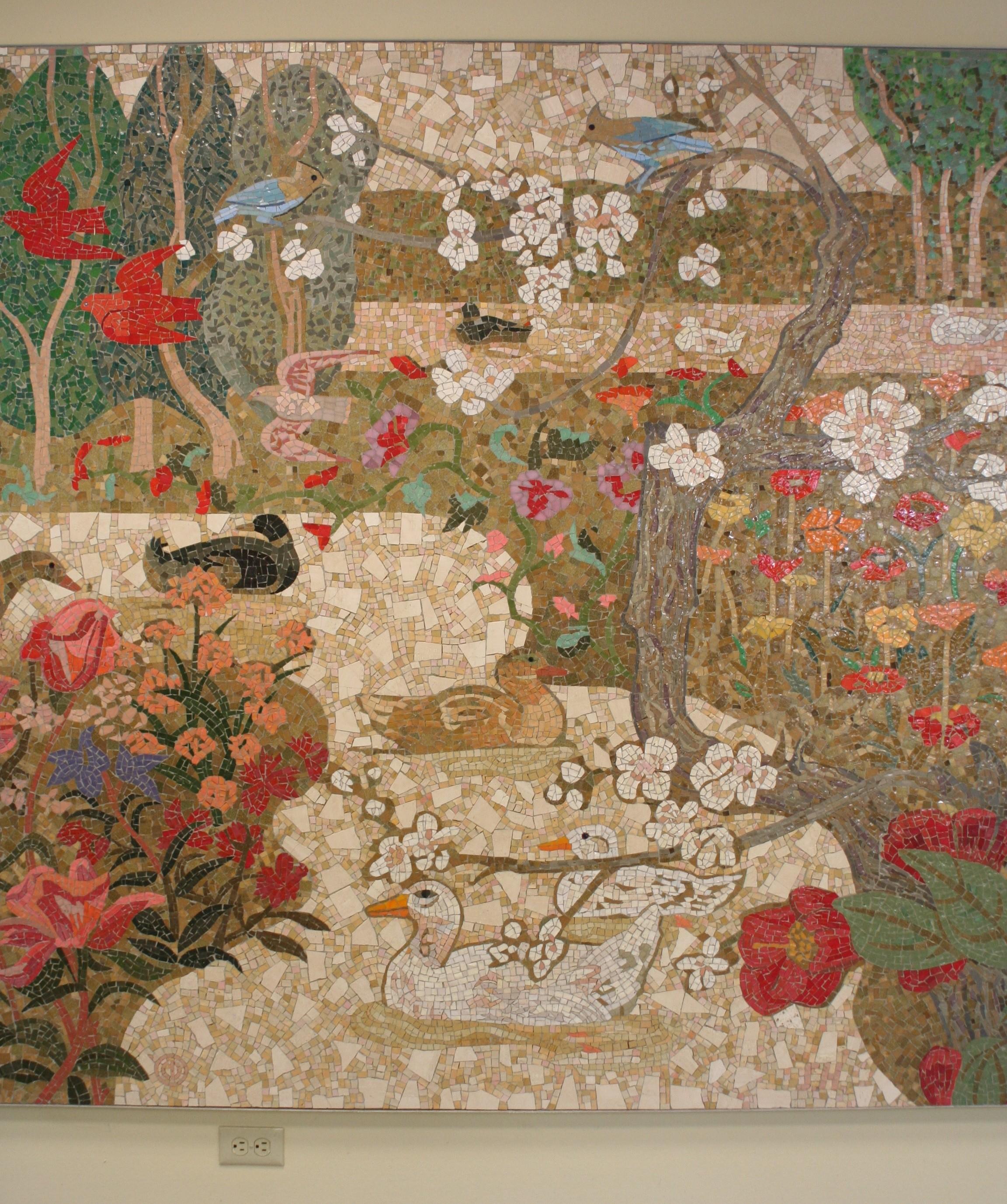 Denis O'Connor, Home Savings, La Canada-Flintridge mosaic, 1990